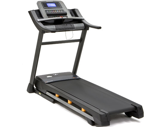 A budget folding treadmill.