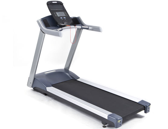 A non-folding treadmill