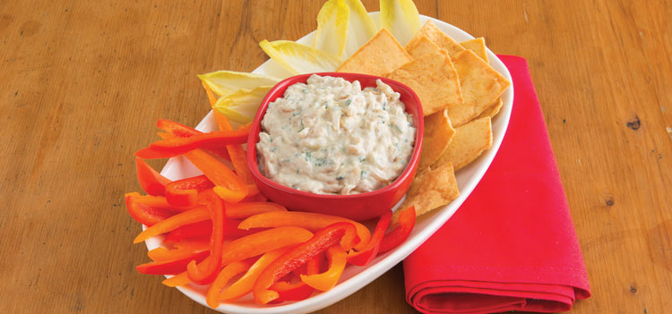 Caramelized Onion Dip With Chives is an easy appetizer.