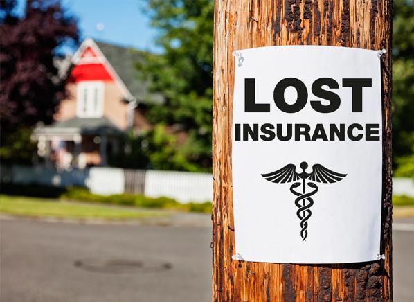 lost health insurance