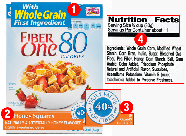 4 Things To Watch Out For On A Cereal Box Nutritional Label