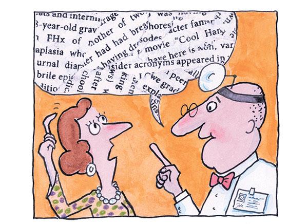 doctor speak