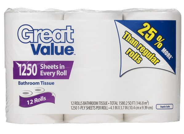 walmart's best and worst toilet paper | toilet paper tests