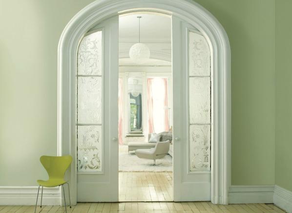 Benjamin Moore Aura Interior Paint Review: Benjamin Moore Pale Green Color Of The Year