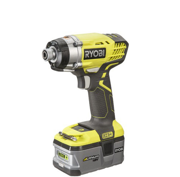 Photo of a cordless impact driver.