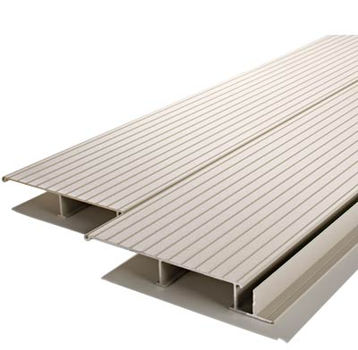 Photo of aluminum decking.