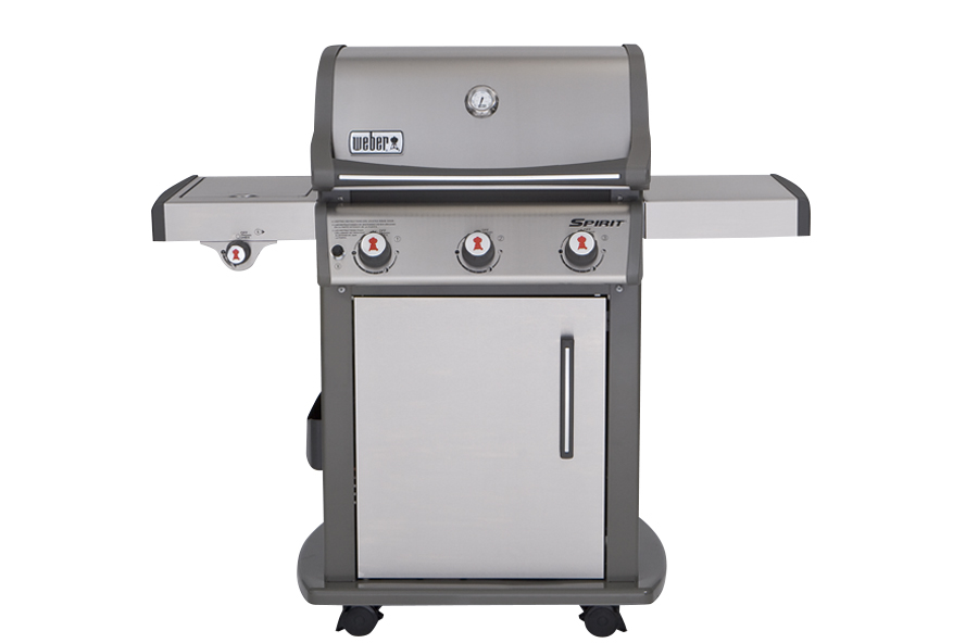 Picture of a mid-sized gas grill.