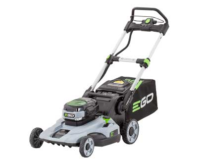 A push lawn mower.