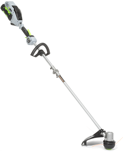 A cordless-electric string trimmer.