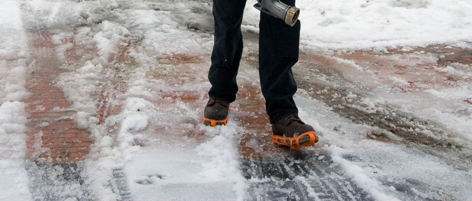 Get A Grip With Slip On Ice Cleats
