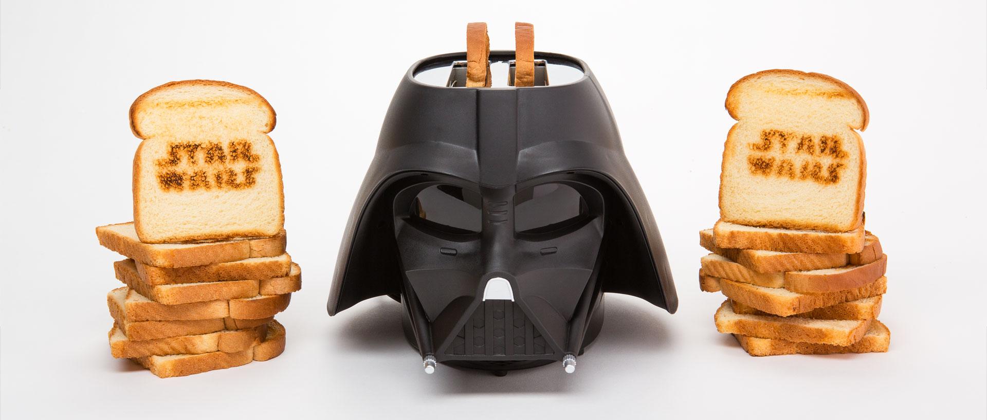 Darth Vader Toaster Makes Toast On The Dark Side