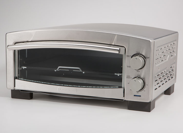 Make pizza at home with the Black & Decker 5-Minute Pizza Oven.