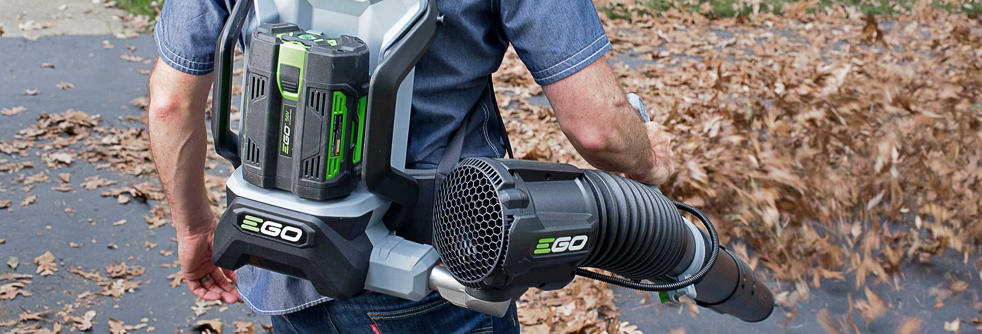 Ego Leaf Blower Blew Away The Electric Competition
