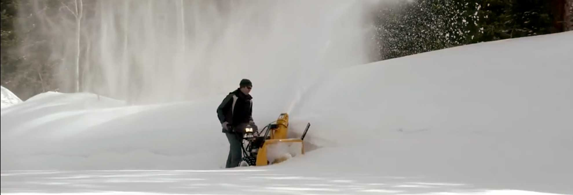 Cub Cadet Snow Blower Blows Away The Competition