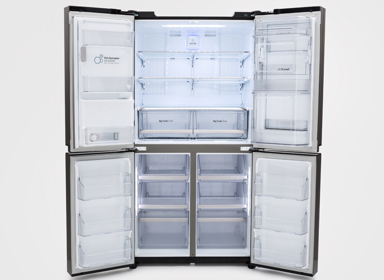 High Quality A 4 Door Refrigerator From LG.