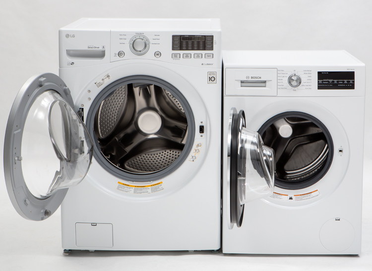 smallest front loading washing machine