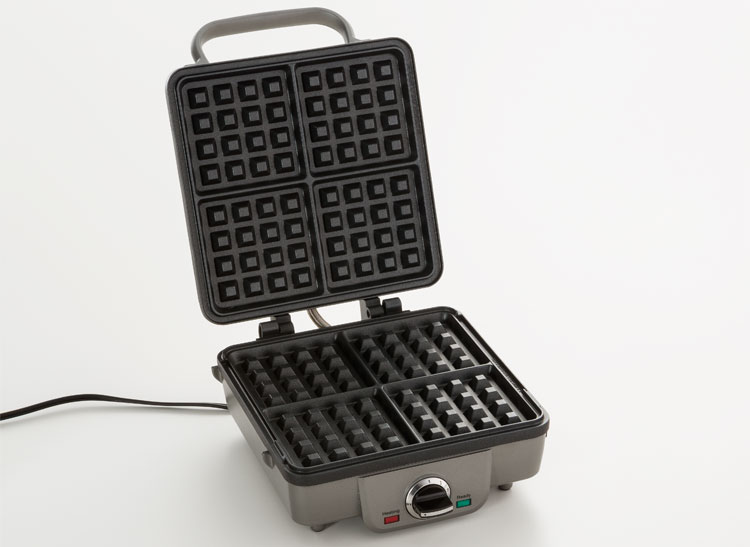 Consumer Reports tests six waffle makers, including the Cuisinart Breakfast Central Belgian Waffle Maker WAF-300.