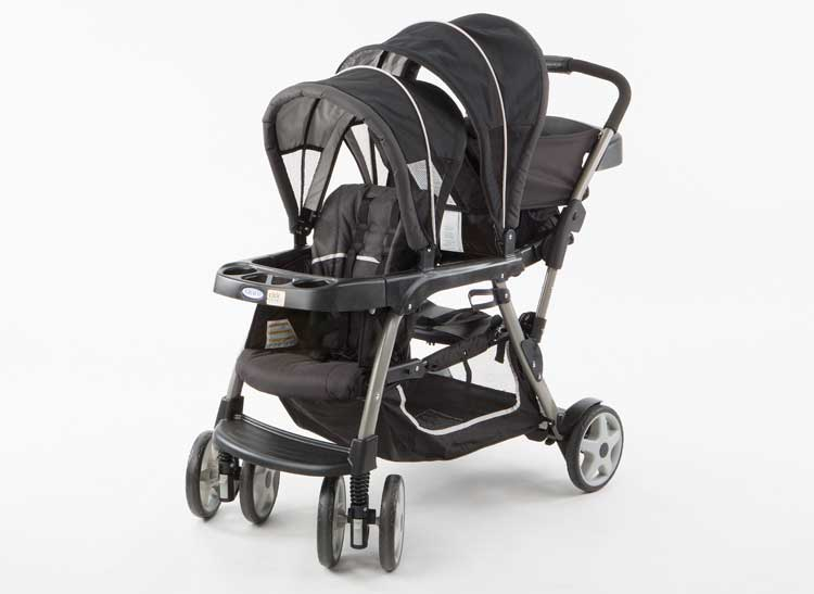 This Graco stroller is the Graco Ready2Grow Click Connect.
