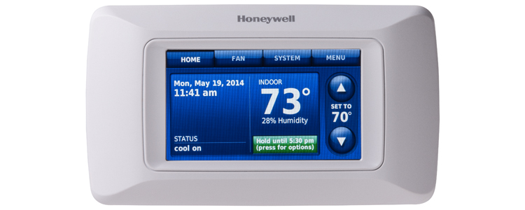 Honeywell Prestige HD YTHX9321R programmable thermostat helps with controlling energy costs