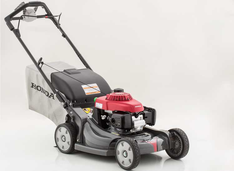 Photo of a $600 Honda HRX2175VKA lawn mower for an article about lawn mowers for every budget.