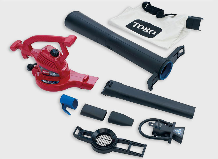 Two Toro Leaf Blowers Pack A Punch