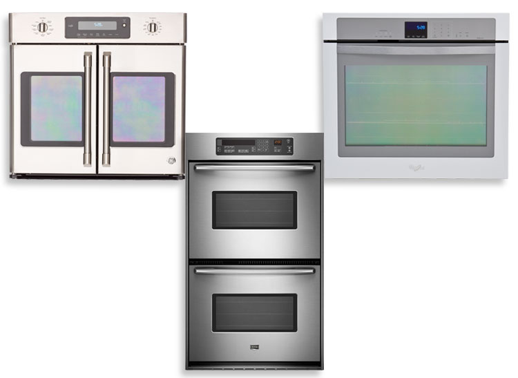 examples of wall ovens including frenchdoor doubleoven and single oven