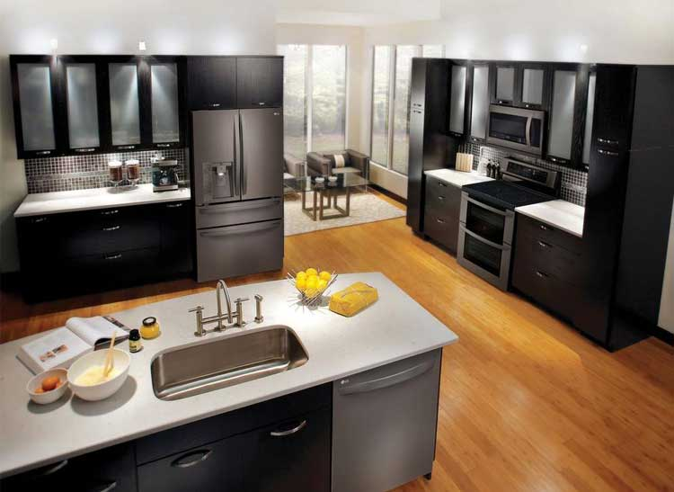 Exceptional Kitchen With An LG Double Oven.