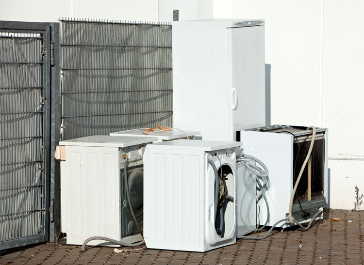 Appliances that a homeowner wants to get rid of