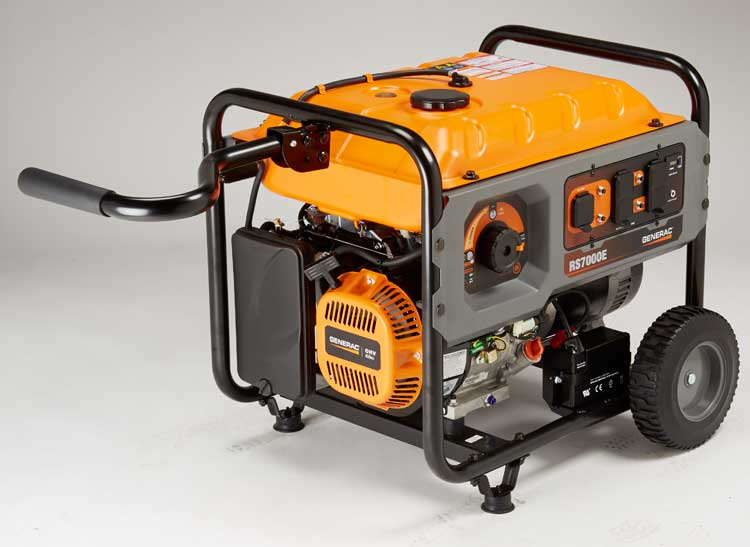 Generac RS7000E generator for hurricane season