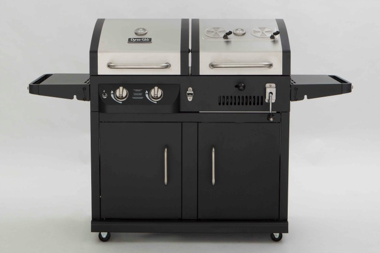 Hybrid Grill Cook With Gas Or Charcoal Consumer Reports
