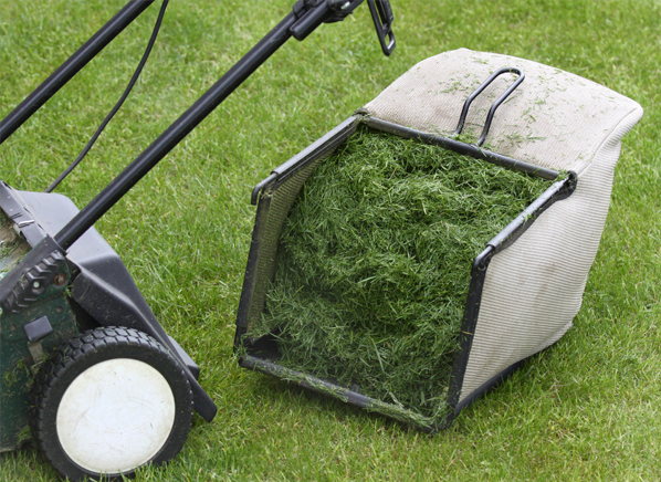 Q A Can You Use Mulching Blade If Re Bagging Lawn Clippings