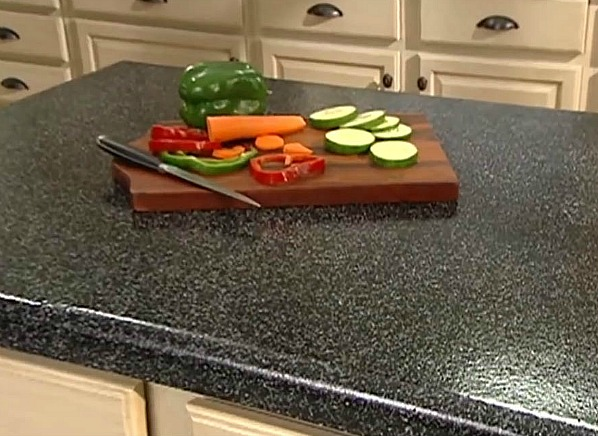 Rustoleum Countertop Paint On Wood : Rust-Oleum?s Transformations kits better for counters than cabinets