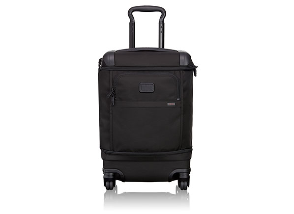 17b176138 Luggage-maker Tumi has created a smaller carry-on to comply with proposed  guidelines. Photo: Tumi