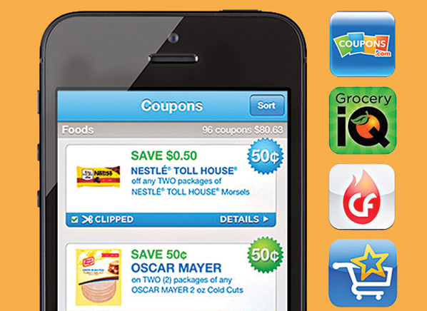 coupon apps for smartphones
