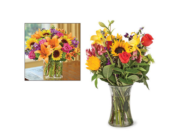 The FTD® Sweet Devotion™ Bouquet-VASE INCLUDED
