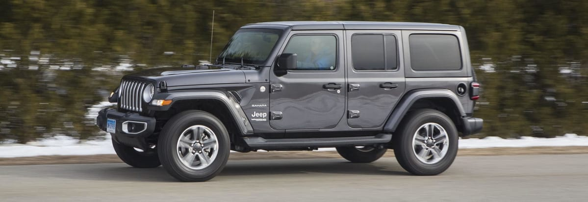 2018 Jeep Wrangler Unlimited JL Driving