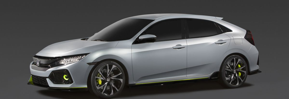 2017 Honda Civic Hatchback Front