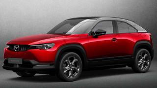 Preview: 2022 Mazda MX-30 Electric SUV Debuts