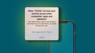 Apple iPhone Tracking Setting
