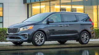 kia sedona minivans recalled due to sliding-door issue
