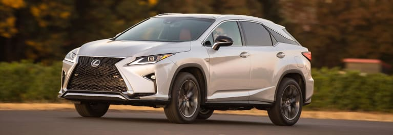 The Lexus RX is one of the top-scoring SUVs for ride comfort.