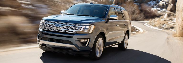 2018 Ford Expedition driving