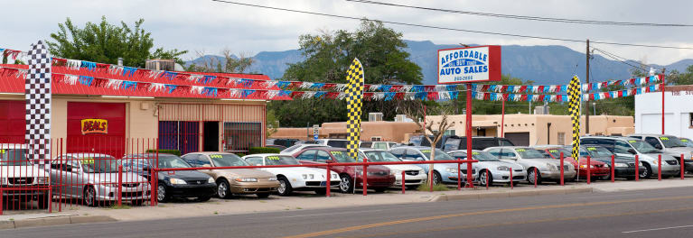 Used-car dealership