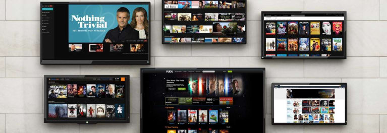 TVS with streaming services