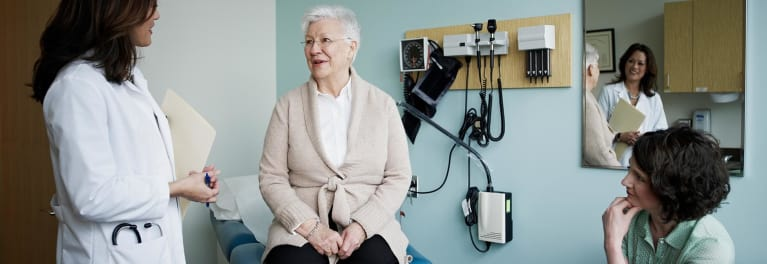 A geriatrics specialist can help older patients.