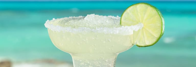 A frozen margarita is one of the classic summer cocktails.