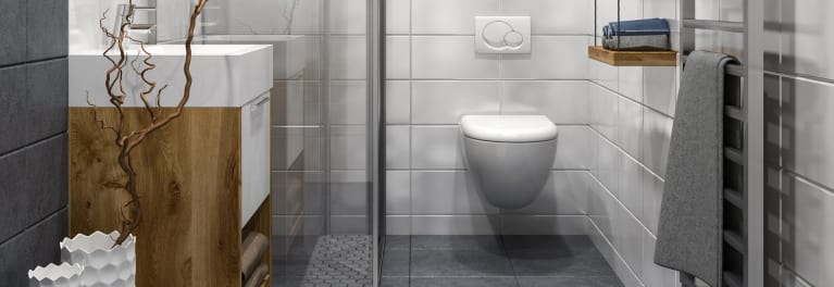 Wall-mounted toilets have a number of pros and cons.