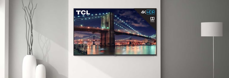 TCL and Hisense are making more high-end TVs, like this TCL model.