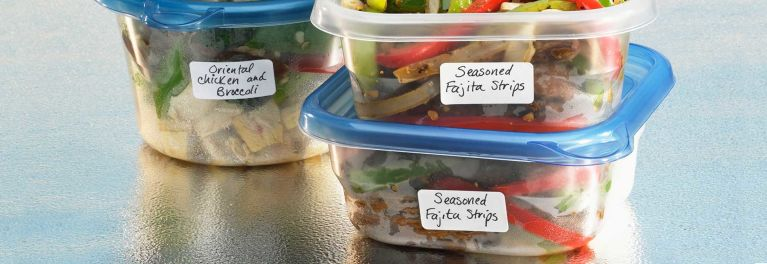 Use leftovers and make a grocery list.