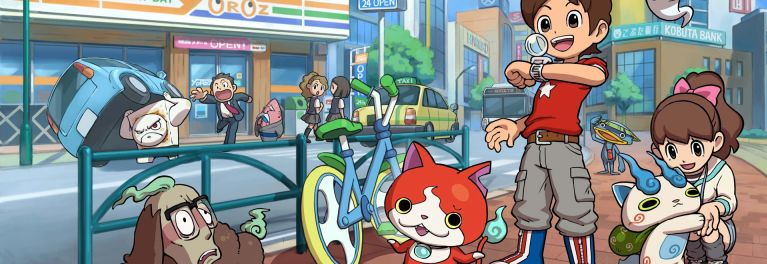 Yo-Kai Watch screen shot for article on best mobile games for kids